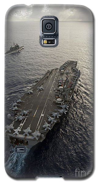 Uss George Washington And Uss Mobile Galaxy S5 Case
