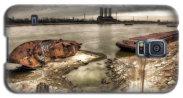 Uss Inaugural And Barge Galaxy S5 Case