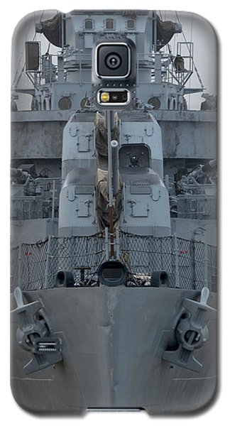 Uss Kidd Dd 661 Front View Galaxy S5 Case by Maggy Marsh