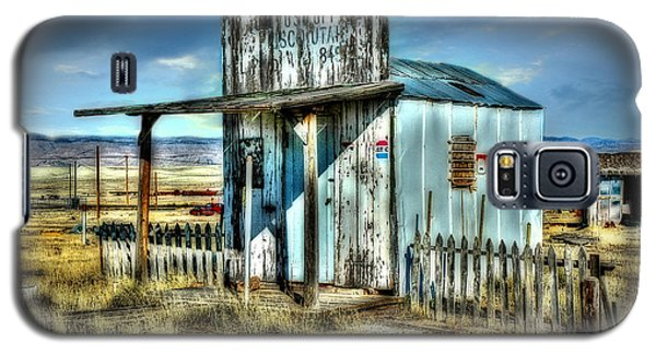 Galaxy S5 Case featuring the photograph Utah Post Office by Mary Timman