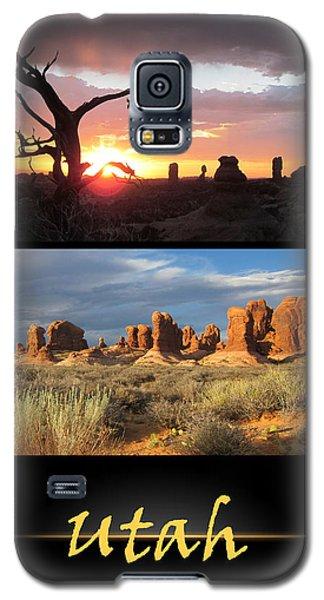 Utah Poster Galaxy S5 Case