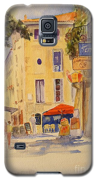 Galaxy S5 Case featuring the painting Uzes France by Beatrice Cloake