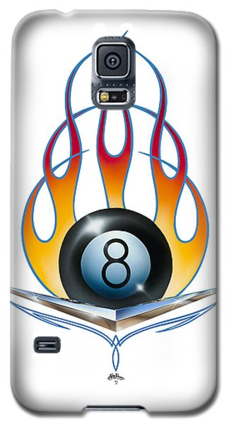 V 8 Galaxy S5 Case by Alan Johnson