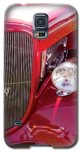 V8 Classic Car Galaxy S5 Case by Val Miller