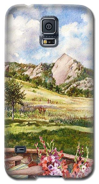 Vacation At Chautauqua Galaxy S5 Case