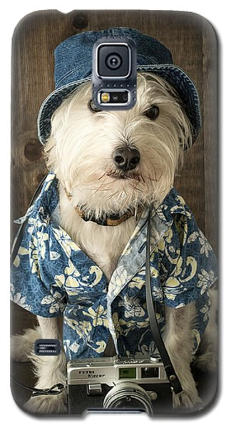 Vacation Dog Galaxy S5 Case by Edward Fielding
