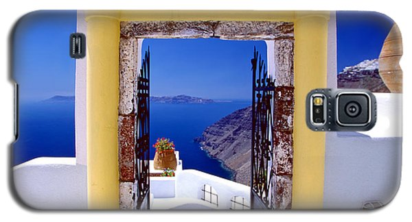 Vacations Gate Galaxy S5 Case by Aiolos Greek Collections
