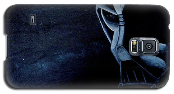 Vader Galaxy Galaxy S5 Case by Dan Wagner