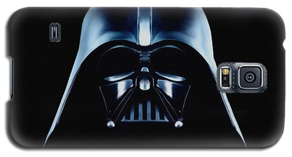Galaxy S5 Case featuring the painting Vader by Jeff DOttavio