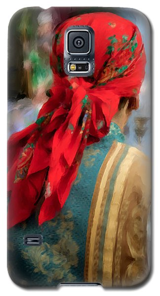 Galaxy S5 Case featuring the photograph Valencian Man In Traditional Dress. Spain by Juan Carlos Ferro Duque