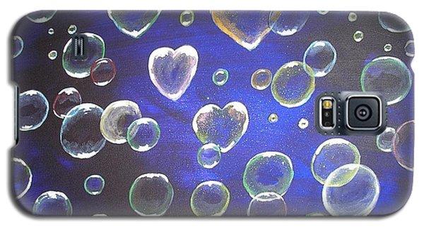 Valentine Bubbles Galaxy S5 Case
