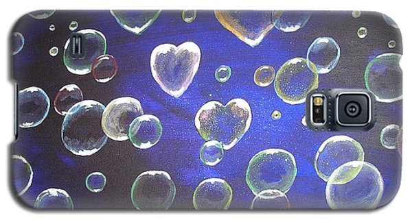 Valentine Bubbles Galaxy S5 Case