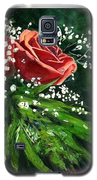 Valentine Rose Galaxy S5 Case