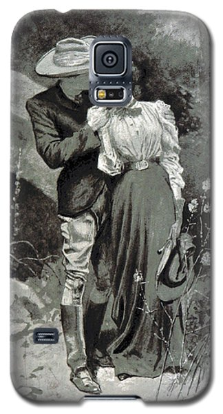 Galaxy S5 Case featuring the photograph Valentines Day, 1898 by British Library