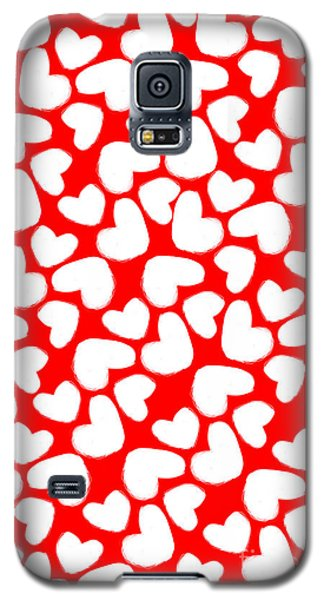 Valentines Day Card Galaxy S5 Case by Louisa Knight