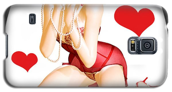 Valentines Pin-up Galaxy S5 Case