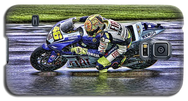 Valentino Rossi At Indy Galaxy S5 Case