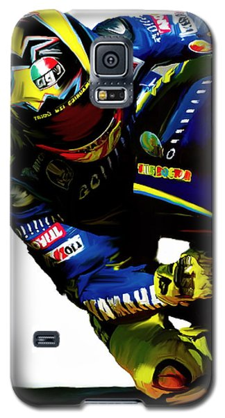 Valentino Rossi  Corner Speed IIi Galaxy S5 Case