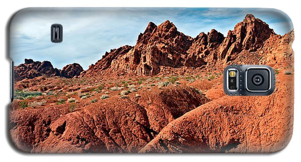 Valley Of Fire Pano Galaxy S5 Case