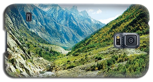Valley Of River Ganga In Himalyas Mountain Galaxy S5 Case