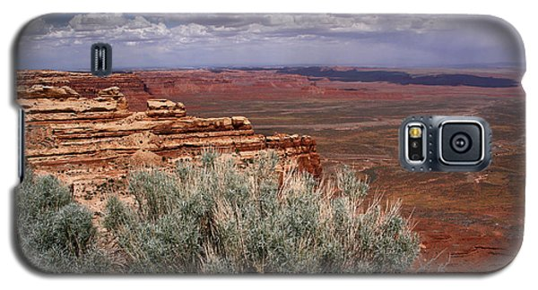 Valley Of The Gods View-moki Dugway Galaxy S5 Case by Butch Lombardi