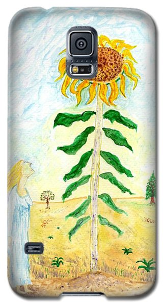 Valley Of The Mammoth Sunflowers Galaxy S5 Case