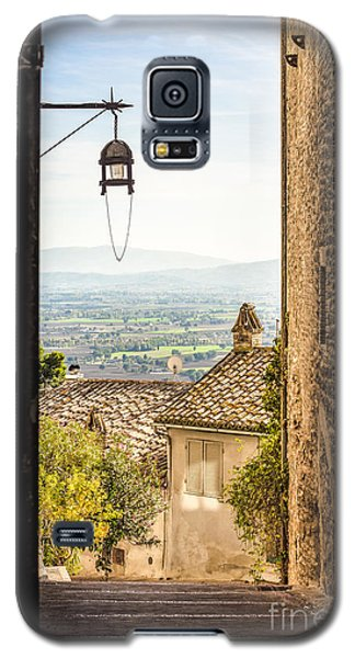 Valley Outside Assisi Galaxy S5 Case