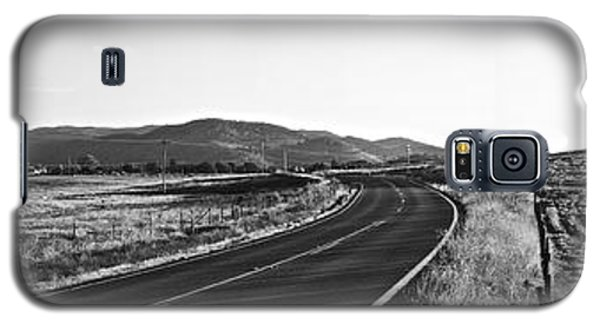 Valley Springs Road Panorama Galaxy S5 Case by Lennie Green