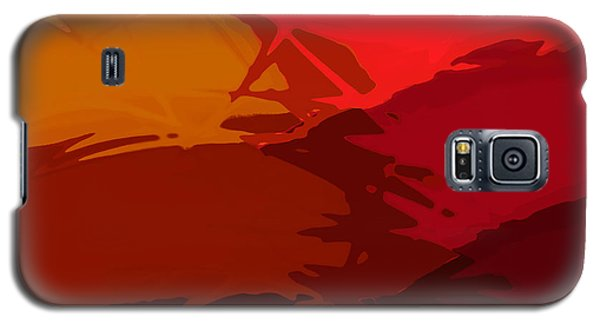Galaxy S5 Case featuring the digital art Vally Ho by Constance Krejci