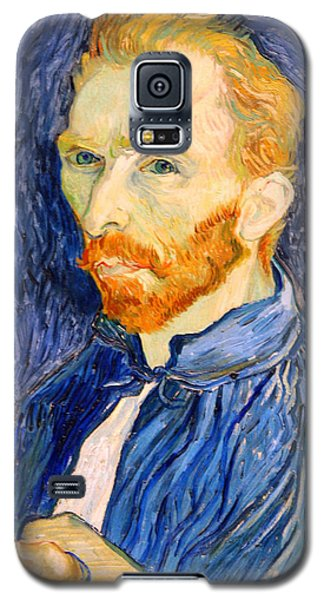 Galaxy S5 Case featuring the photograph Van Gogh On Van Gogh by Cora Wandel