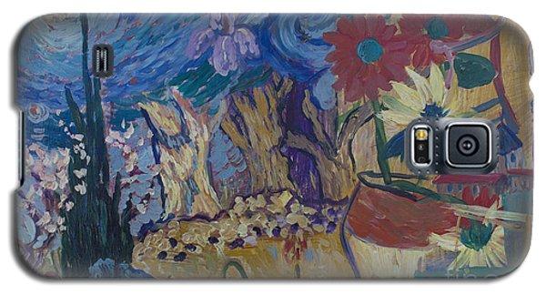 Van Gogh Spirit Galaxy S5 Case by Avonelle Kelsey