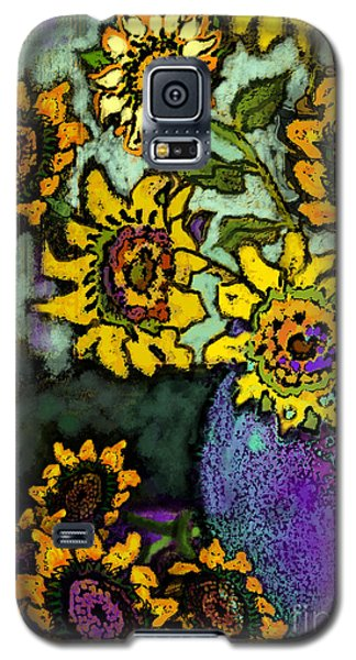 Van Gogh Sunflowers Cover Galaxy S5 Case