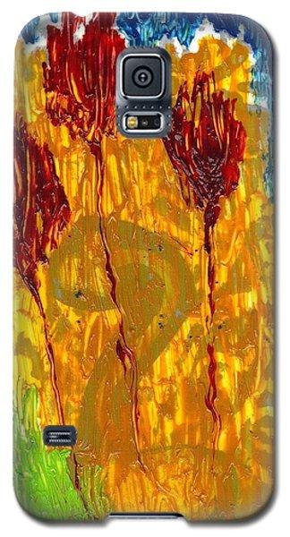 Van Gogh's Garden Of Eden Galaxy S5 Case by Lesley Fletcher