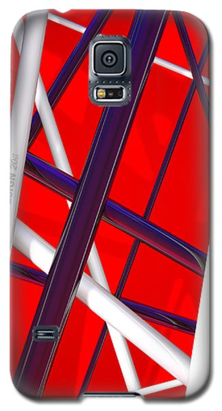 Van Halen Galaxy S5 Case - Van Halen 3d Iphone Cover by Andi Blair