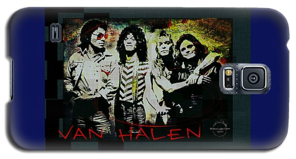 Van Halen Galaxy S5 Case - Van Halen - Ain't Talkin' 'bout Love by Absinthe Art By Michelle LeAnn Scott