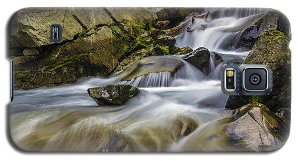 Van Trump Creek Mount Rainier National Park Galaxy S5 Case by Bob Noble Photography