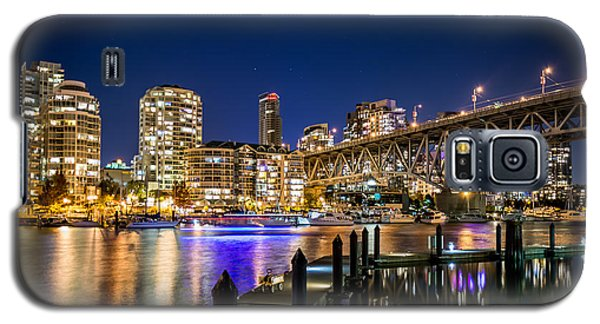Vancouver At Night Galaxy S5 Case