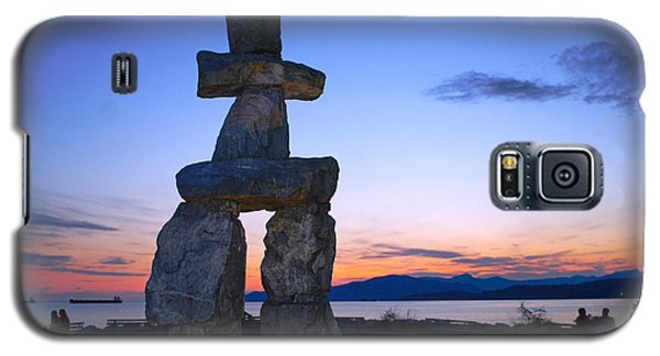 Vancouver Bc Inukshuk Sculpture Galaxy S5 Case