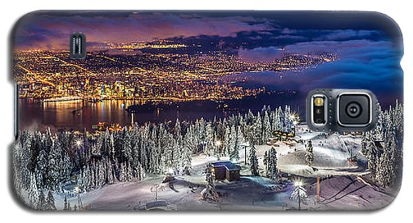Vancouver City Panorama From Grouse Mountain  Galaxy S5 Case