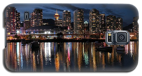 Vancouver Skyline Galaxy S5 Case by Brian Chase
