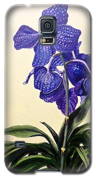 Vanda Sausai Blue Orchid Galaxy S5 Case