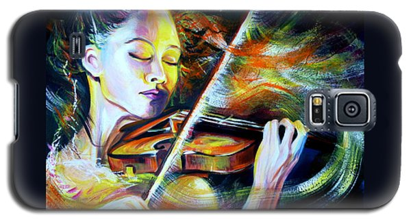 Vanessa-mae.power Of Music Galaxy S5 Case