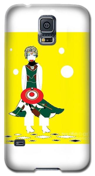 Vanguard Girl Galaxy S5 Case