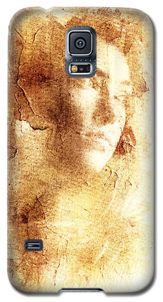 Galaxy S5 Case featuring the digital art Vanishing Face by Andrea Barbieri