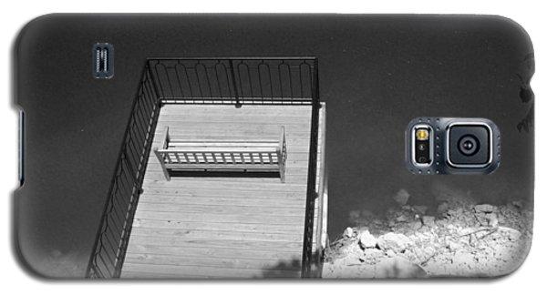 Vantage Point Bw Galaxy S5 Case by Elizabeth Sullivan