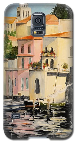 Galaxy S5 Case featuring the painting Varenna by Alan Lakin