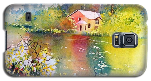 Variations Of Lake Scene Galaxy S5 Case