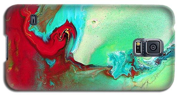 Variety - Colorful Fluid Abstract Art By Kredart Galaxy S5 Case