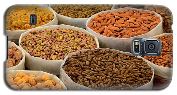 Variety Of Raw Nuts For Sale At Outdoor Street Market Karachi Pakistan Galaxy S5 Case