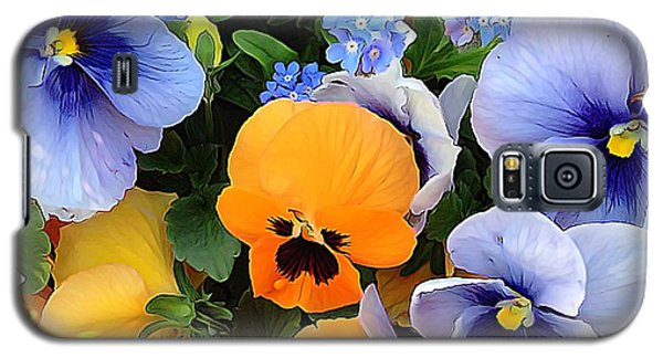 Galaxy S5 Case featuring the photograph Various Violets by Gabriella Weninger - David